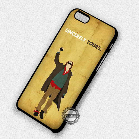 Sincerely Yours Quote - iPhone 7 6 Plus 5c 5s SE Cases & Covers
