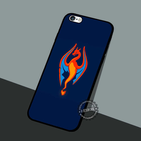 Skyrim Charizard Pokemon - iPhone 7 6 5 SE Cases & Covers