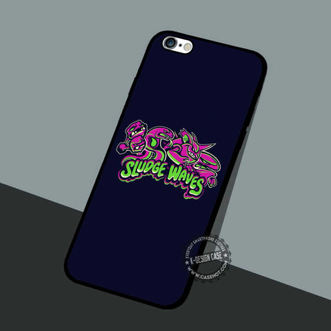 Sludge Waves Pokemon - iPhone 7 6 5 SE Cases & Covers