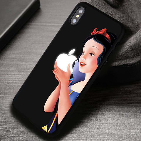 Snow White and Apple Disney Princess - iPhone X Case