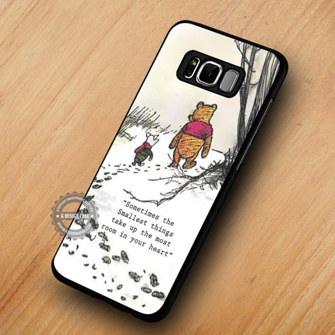 Sometimes the Smallest Things Winnie The Pooh - Samsung Galaxy S8 Case