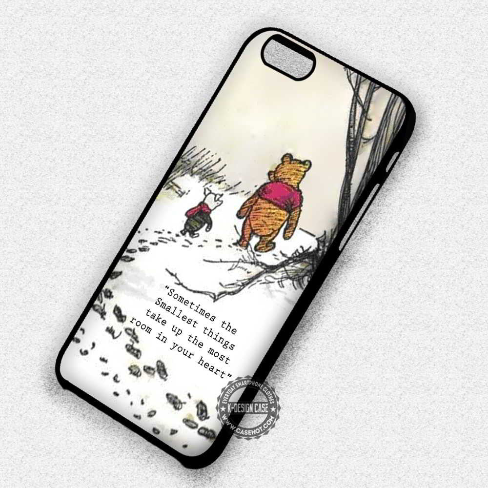 winnie the pooh Sometimes the smallest things 2 iphone case