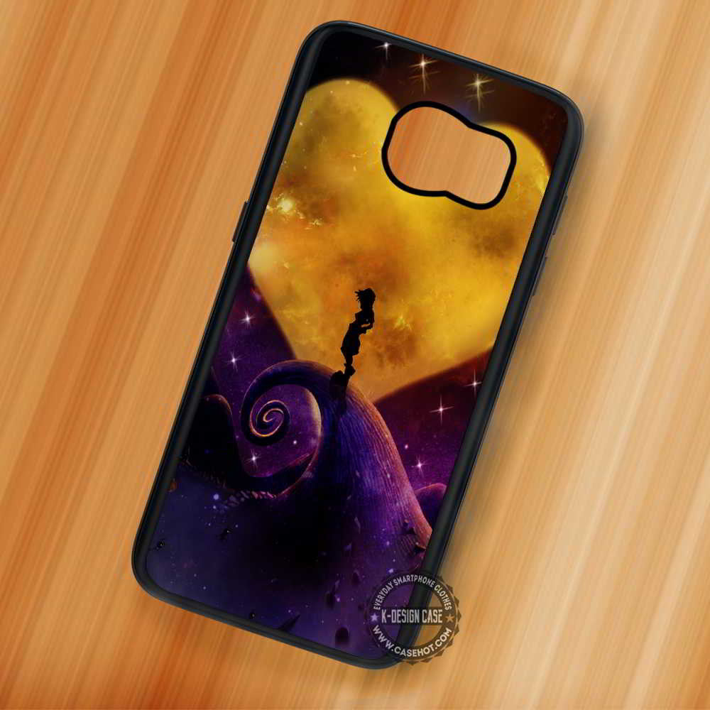 Nightmare Before Christmas Sora.Sora Heart Moon Kingdom Hearts Nightmare Before Christmas Samsung Galaxy S7 S6 S5 Note 7 Cases Covers