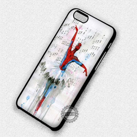 Spider Man Ballet - iPhone 7+ 6+ SE Cases & Covers