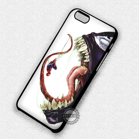 Spider Man with Venom - iPhone 7+ 6+ SE Cases & Covers