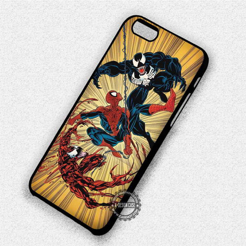 Spiderman and Venom - iPhone X 8+ 7 6s SE Cases & Covers