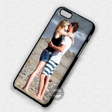 Kissing at Beach - iPhone 7+ 6+ SE Cases & Covers