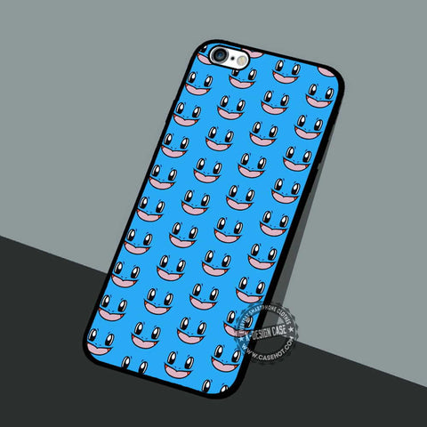 Squirtle Face Pattern - iPhone 7 6 5 SE Cases & Covers