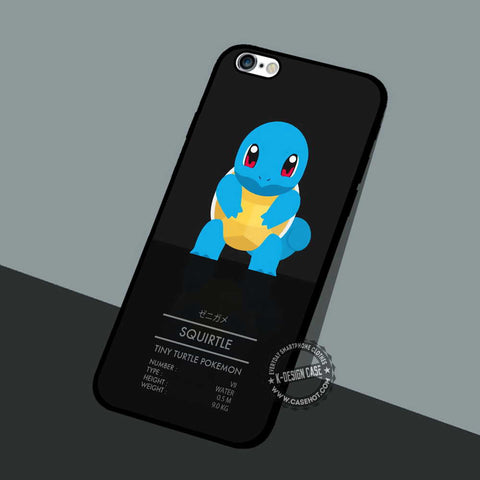 Squirtle Tiny Turtle - iPhone 7 6 5 SE Cases & Covers