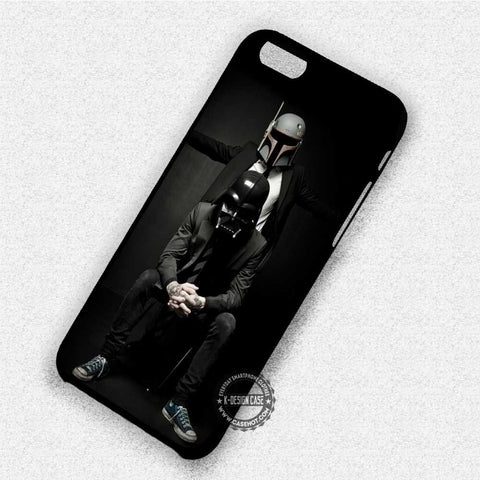 Boba Fett n Darth Vader with Suit - iPhone 7 6 Plus 5c 5s SE Cases & Covers