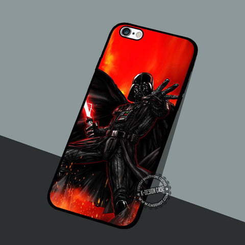 Darth Vade Style - iPhone 7 6 5 SE Cases & Covers