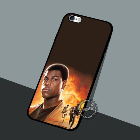 Star Wars Finn - iPhone 7 6 5 SE Cases & Covers