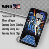 Star Wars Poster - Samsung Galaxy S8 S7 S6 Note 8 Cases & Covers
