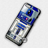 Star Wars R2D2 Front - iPhone 7 6S 5S SE4S Cases & Covers