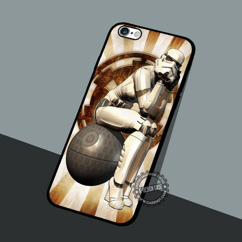 Stormtrooper Girl Funny - iPhone 7 6 5 SE Cases & Covers