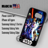 Star Wars Poster on Galaxy - Samsung Galaxy S7 S6 S5 Note 5 Cases & Covers