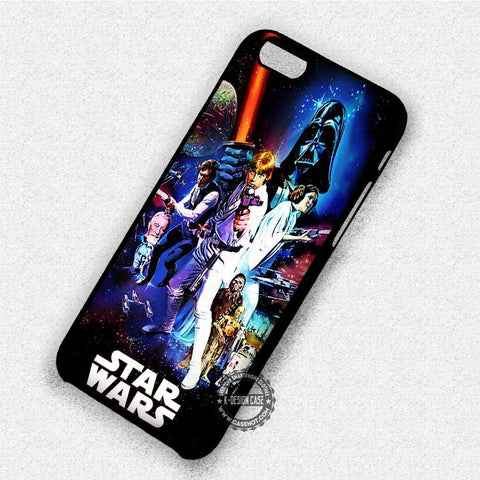 Star Wars Poster on Galaxy - iPhone 7 6 Plus 5c 5s SE Cases & Covers