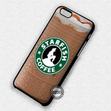 Starfish Coffee Ariel - iPhone 7 6 Plus 5c 5s SE Cases & Covers