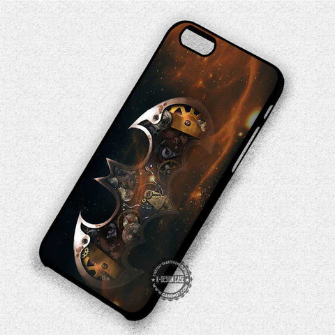 Steampunk Art Batman Logo - iPhone X 8+ 7 6s SE Cases & Covers