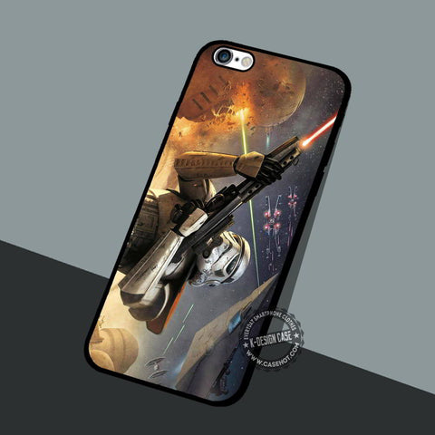 Stormtrooper Battlefront Star Wars - iPhone 7 6 5 SE Cases & Covers