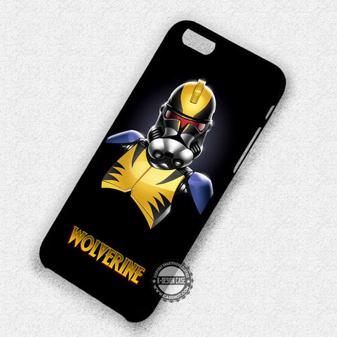 Stormtrooper Wolverine - iPhone 7 6S 5S SE4S Cases & Covers