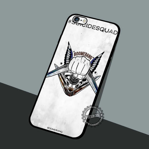 Suicide Squad Boomerang - iPhone 7 6 5 SE Cases & Covers