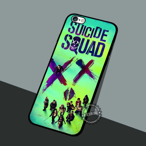 Suicide Squad Poster - iPhone 7 6S 5 4 Cases & Covers