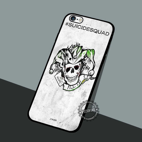 Suicide squad Joker - iPhone 7 5 SE Cases & Covers