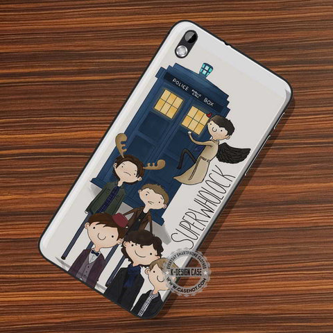 SuperWhoLock Supernatural - LG Nexus Sony HTC Phone Cases and Covers