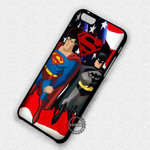 Batman and Superman - iPhone 7 6S 5 5S SE Cases & Covers