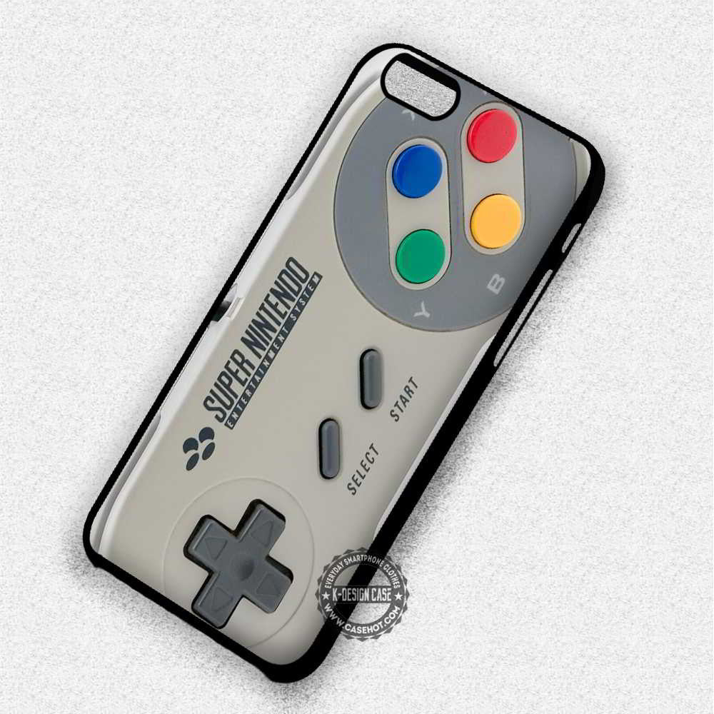 huge selection of eb8f6 ca659 Super Nintendo Game Controller - iPhone 7 6 5 SE Cases & Covers