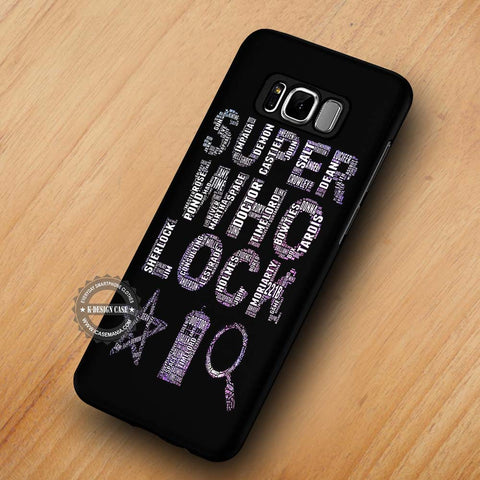 Super Who Lock Word Art - Samsung Galaxy S8 Case