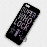 Super Who Lock Word Art - iPhone 7 6 Plus 5c 5s SE Cases & Covers
