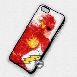 Superhero Painting The Flash - iPhone 7 6 Plus 5c 5s SE Cases & Covers