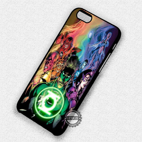 Superheroes Green Lantern - iPhone 7 6 Plus 5c 5s SE Cases & Covers