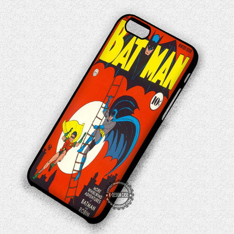 Superheroes Batman Robin - iPhone 7 6 Plus 5c 5s SE Cases & Covers