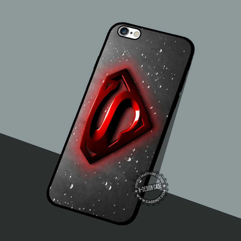Superman Red Symbol - iPhone 7 6 5 SE Cases & Covers