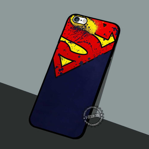 Superman Painting - iPhone 7 6 5 SE Cases & Covers