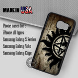 Supernatural Anti-Possession - Samsung Galaxy S7 S6 S5 Note 5 Cases & Covers