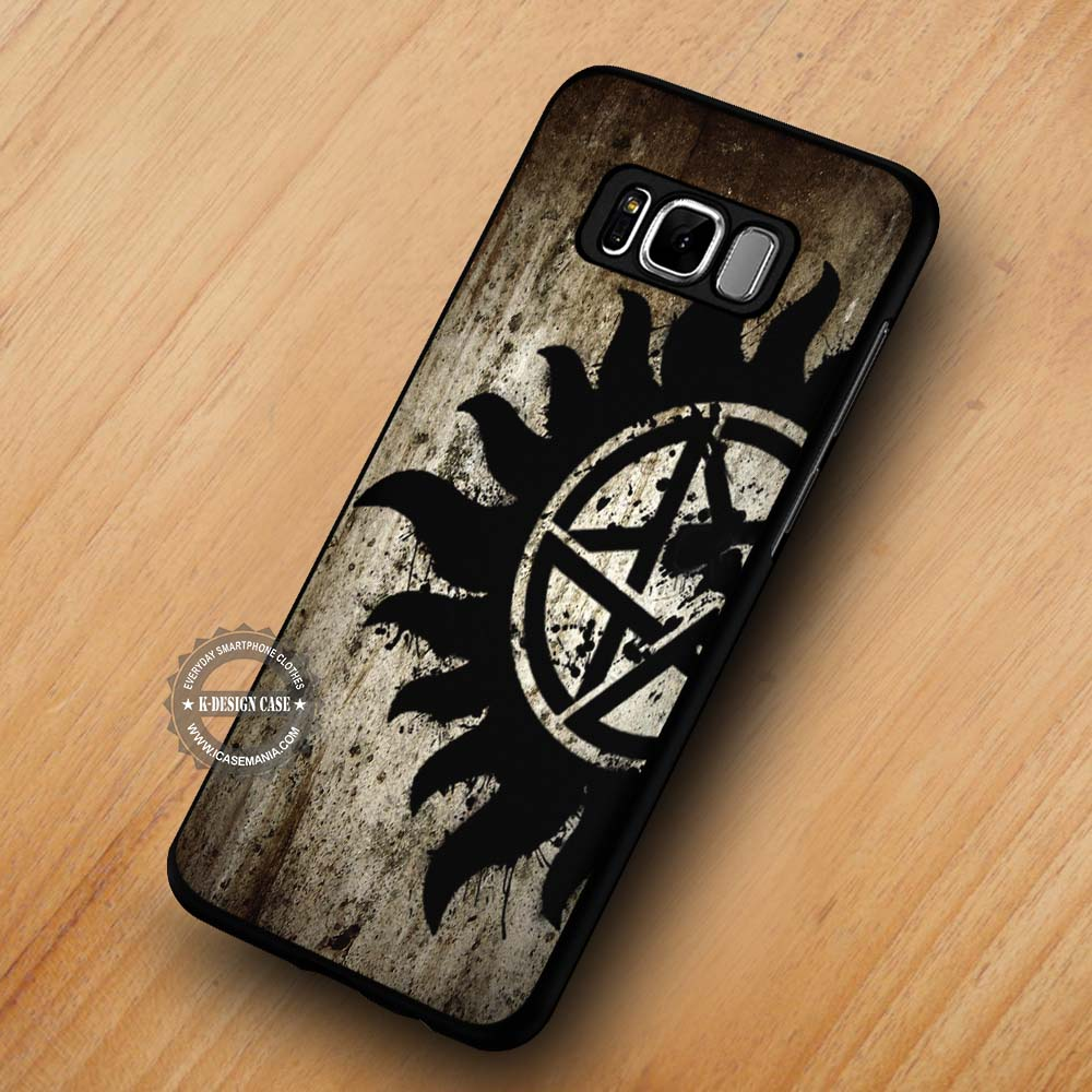 Supernatural Anti Possession Symbol Samsung Galaxy S8 S7 S6 Note 8