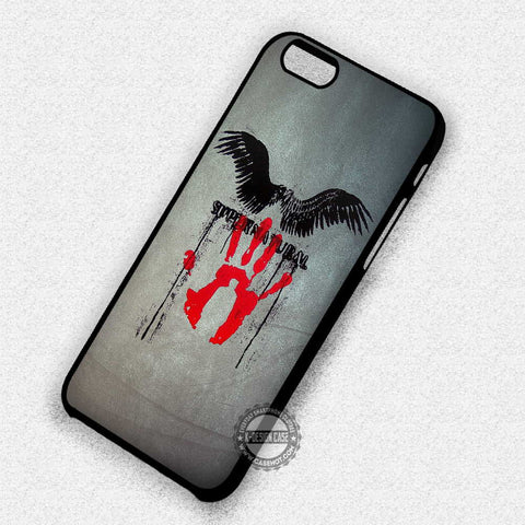 Castiel Hand and Wings - iPhone 7 Plus 6 5S SE 4 Cases & Covers