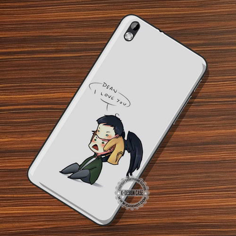 Supernatural Cute Castiel - LG Nexus Sony HTC Phone Cases and Covers