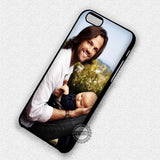 Jared Padalecki and His Son - iPhone 7 Plus 6 5S SE 4 Cases & Covers
