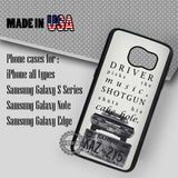 Supernatural Quote Driver Picks - Samsung Galaxy S7 S6 S5 Note 5 Cases & Covers