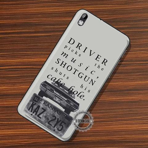 Supernatural Quote Driver - LG Nexus Sony HTC Phone Cases and Covers