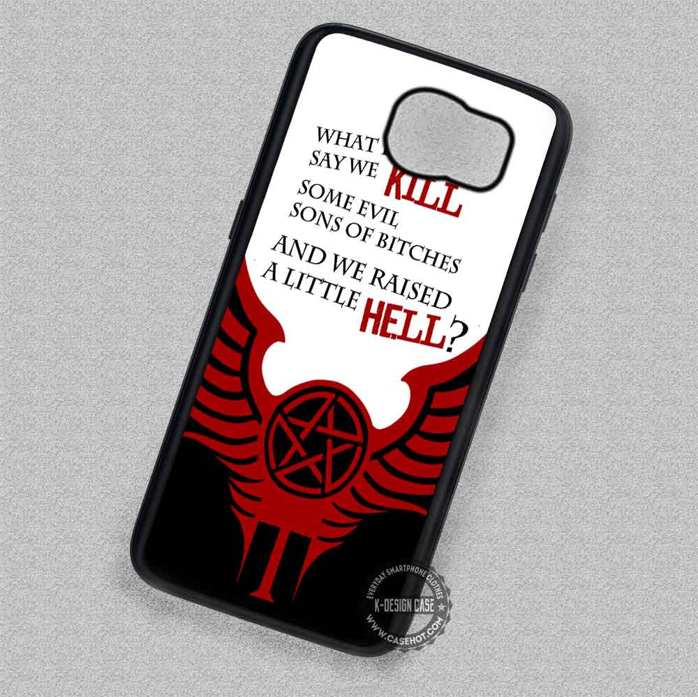 Supernatural Symbol Of Protection Quote Samsung Galaxy S7 S6 S4
