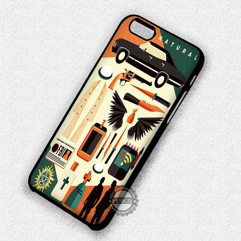 Supernatural Art Icons - iPhone 7 Plus 6 5S SE 4 Cases & Covers