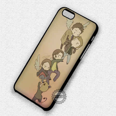 Supernatural Drawing Artwork - iPhone 7 Plus 6 5S SE 4 Cases & Covers