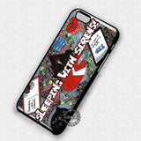 Art Collage BMTH - iPhone 7 6 Plus 5c 5s SE Cases & Covers