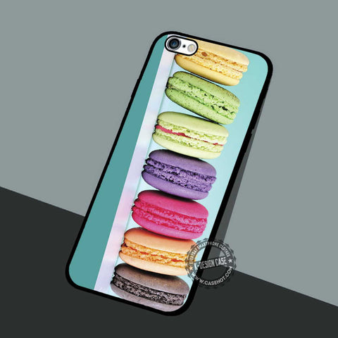 Sweet Macaron Picture - iPhone 7 6 5 SE Cases & Covers